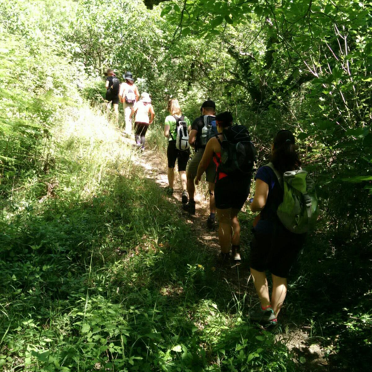 Sección de Senderismo, marchas y acampadas