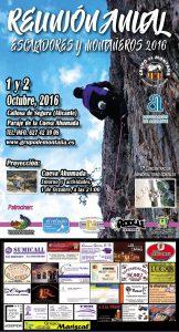 17 concentración escaladores y montañeros Callosa de Segura